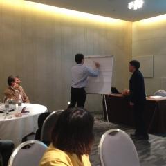 Conducting NBTC TRG workshop Pattaya 22mar12