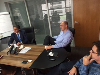 with CEO and COO of Vodacom Nigeria-Lagos 24feb15