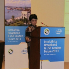 Ibu Mira presenting May 2013