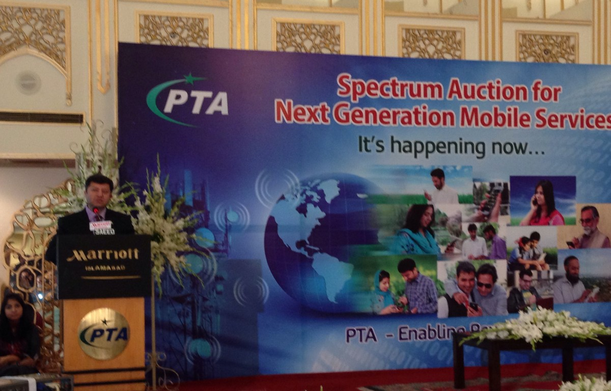 Last Spectrum Auction of April 2014