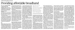 Nationwide public network providing affordable broadband 29Aug16