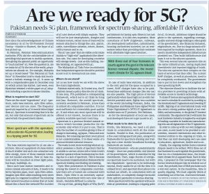 PI- Article Are we ready for 5G