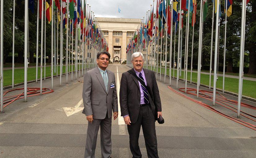 Presenting USF at UNCTAD in Geneva