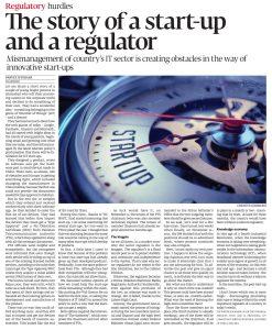 PI- Express Tribune -The Story of a startup & a regulator 25dec17