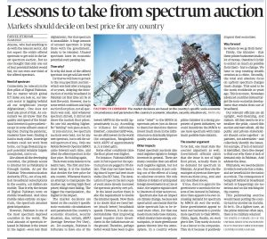 Lessons to take from spectrum 13Sep21